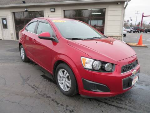 2013 Chevrolet Sonic for sale at Tri-County Pre-Owned Superstore in Reynoldsburg OH