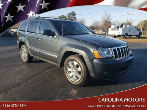 2008 Jeep Grand Cherokee for sale at CAROLINA MOTORS in Thomasville NC