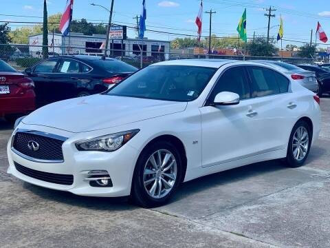 2017 Infiniti Q50 for sale at USA Car Sales in Houston TX