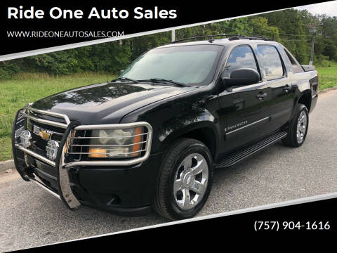 2007 Chevrolet Avalanche for sale at Ride One Auto Sales in Norfolk VA