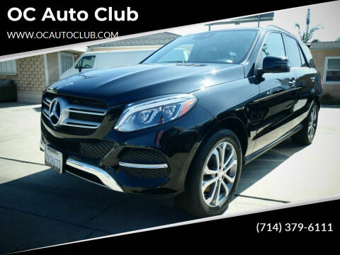 2017 Mercedes-Benz GLE for sale at OC Auto Club in Midway City CA