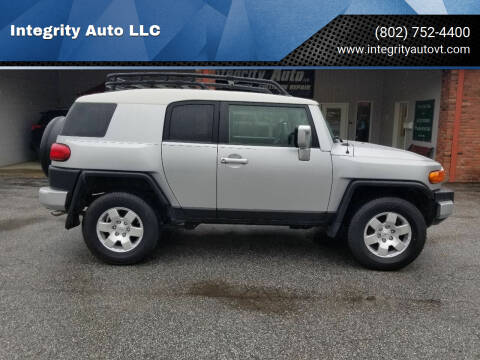 2008 Toyota FJ Cruiser for sale at Integrity Auto LLC - Integrity Auto 2.0 in St. Albans VT
