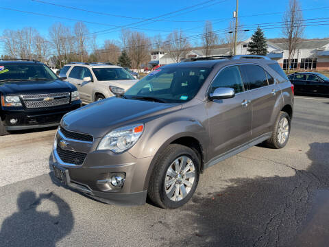 2010 Chevrolet Equinox for sale at Candlewood Valley Motors in New Milford CT