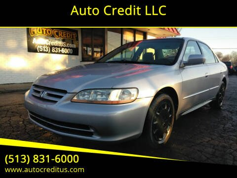 2002 Honda Accord for sale at Auto Credit LLC in Milford OH