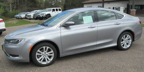 2015 Chrysler 200 for sale at The AUTOHAUS LLC in Tomahawk WI