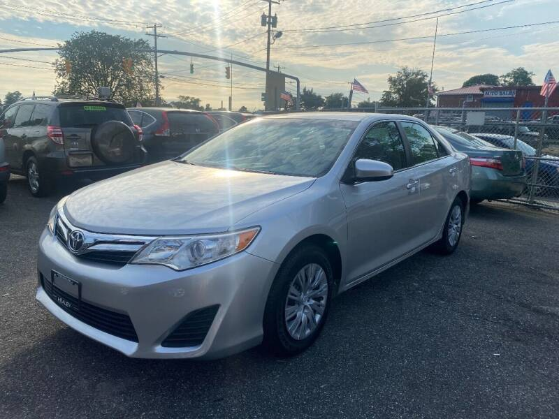 2012 Toyota Camry for sale at American Best Auto Sales in Uniondale NY