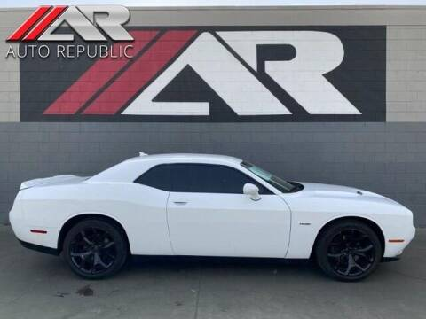 2015 Dodge Challenger for sale at Auto Republic Fullerton in Fullerton CA