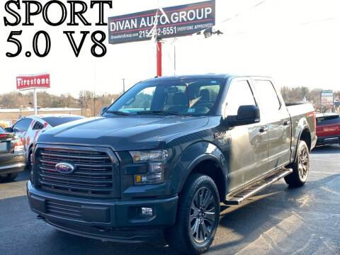 2016 Ford F-150 for sale at Divan Auto Group in Feasterville Trevose PA