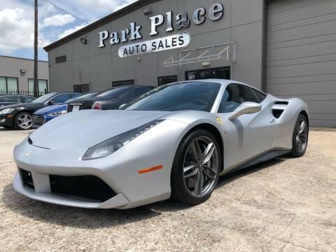 2016 Ferrari 488 GTB for sale at PARK PLACE AUTO SALES in Houston TX