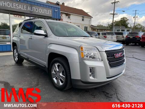 2015 GMC Terrain for sale at MWS Wholesale  Auto Outlet in Grand Rapids MI