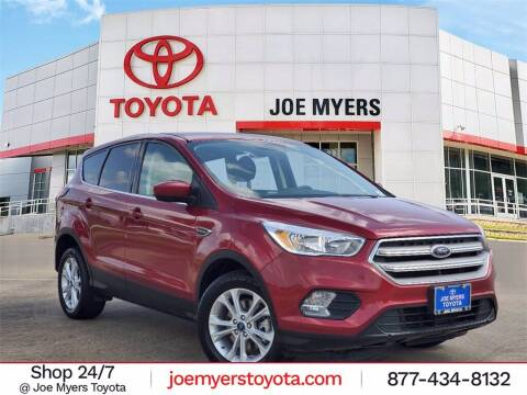 2019 Ford Escape for sale at Joe Myers Toyota PreOwned in Houston TX