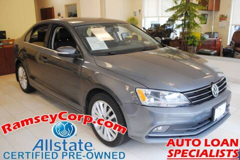 2015 Volkswagen Jetta for sale at Ramsey Corp. in West Milford NJ