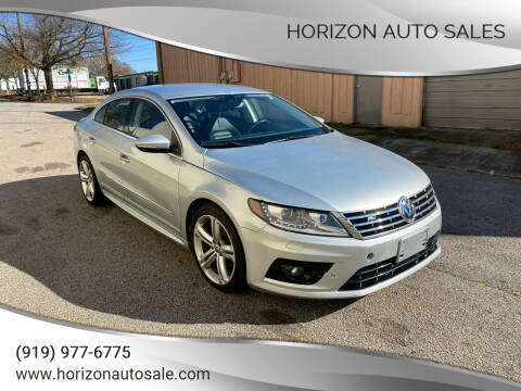 2013 Volkswagen CC for sale at Horizon Auto Sales in Raleigh NC