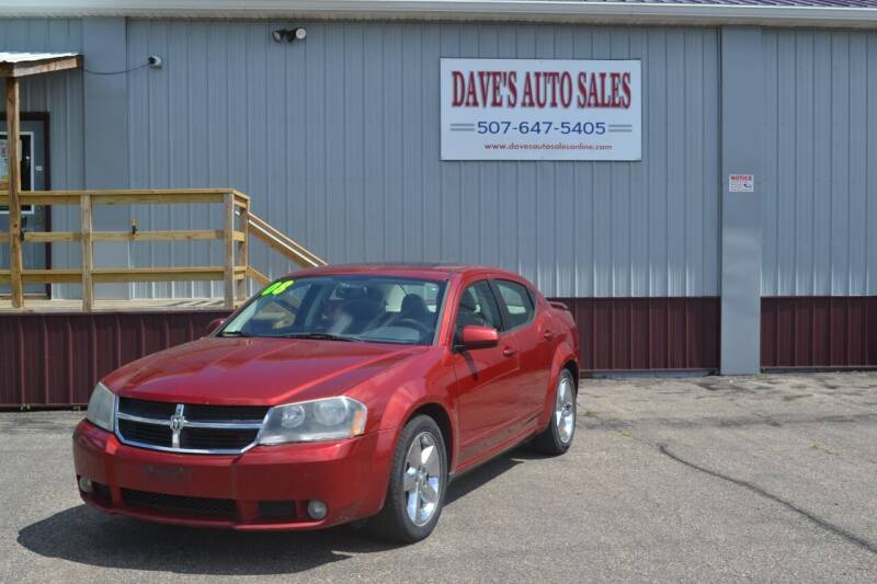 2008 Dodge Avenger for sale at Dave's Auto Sales in Winthrop MN
