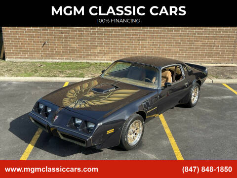1980 Pontiac Trans Am for sale at MGM CLASSIC CARS in Addison, IL