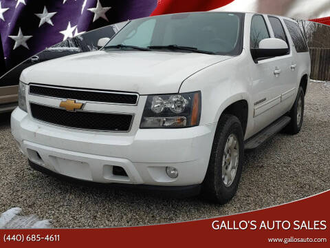 2013 Chevrolet Suburban for sale at Gallo's Auto Sales in North Bloomfield OH