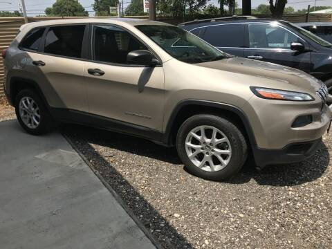2015 Jeep Cherokee for sale at AMIGO USED CARS in Houston TX