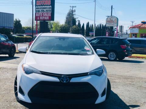 2017 Toyota Corolla for sale at City Motors in Hayward CA