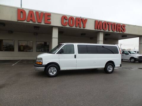 2012 Chevrolet Express Passenger for sale at DAVE CORY MOTORS in Houston TX