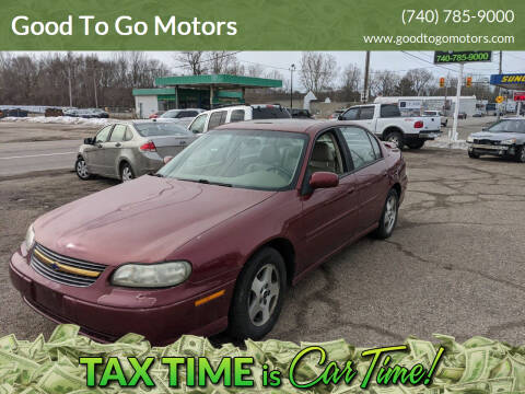 2003 Chevrolet Malibu for sale at Good To Go Motors in Lancaster OH