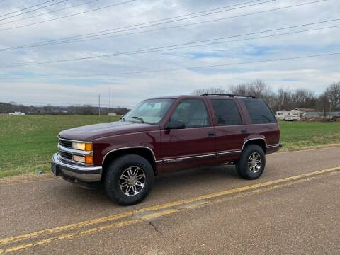 1999 Chevrolet Tahoe for sale at Tennessee Valley Wholesale Autos LLC in Huntsville AL