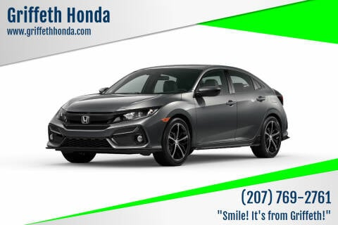 2021 Honda Civic for sale at Griffeth Honda in Presque Isle ME