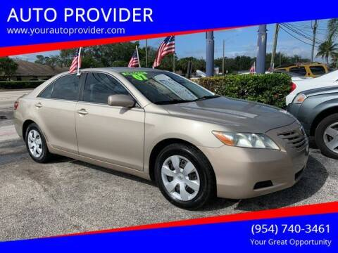 2007 Toyota Camry for sale at AUTO PROVIDER in Fort Lauderdale FL