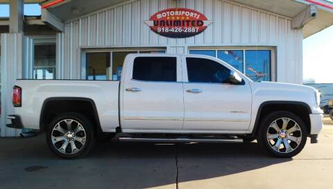 2018 GMC Sierra 1500 for sale at Motorsports Unlimited in McAlester OK
