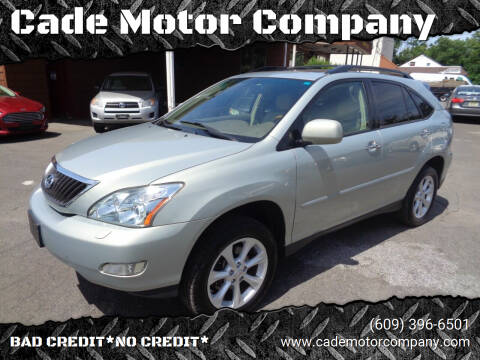 2009 Lexus RX 350 for sale at Cade Motor Company in Lawrence Township NJ