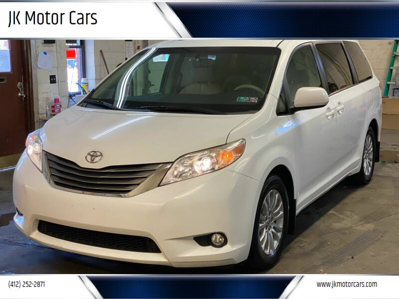 2011 Toyota Sienna for sale at JK Motor Cars in Pittsburgh PA