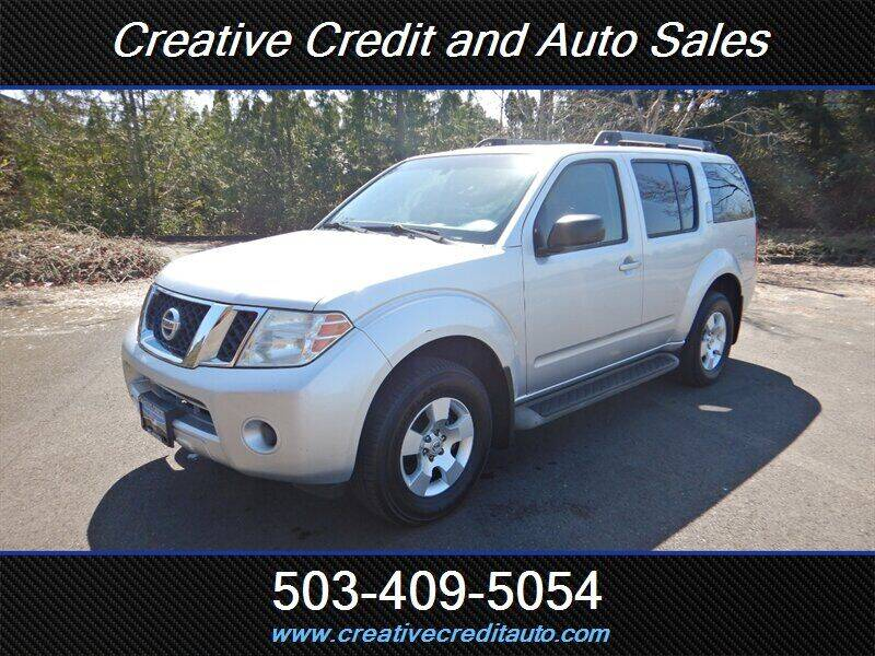 2011 Nissan Pathfinder for sale at Creative Credit & Auto Sales in Salem OR