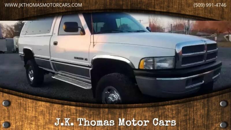 1995 Dodge Ram Pickup 2500 for sale at J.K. Thomas Motor Cars in Spokane Valley WA