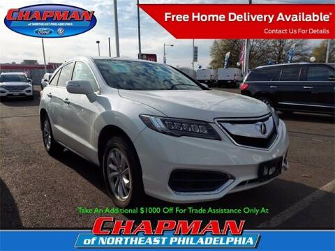 2016 Acura RDX for sale at CHAPMAN FORD NORTHEAST PHILADELPHIA in Philadelphia PA