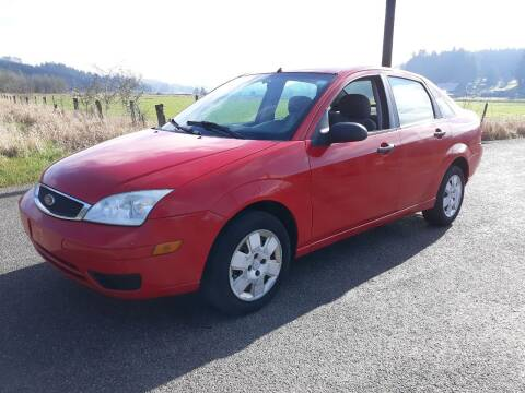 2007 Ford Focus for sale at State Street Auto Sales in Centralia WA