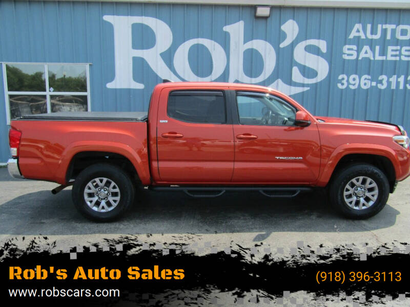 2016 Toyota Tacoma for sale at Rob's Auto Sales - Robs Auto Sales in Skiatook OK
