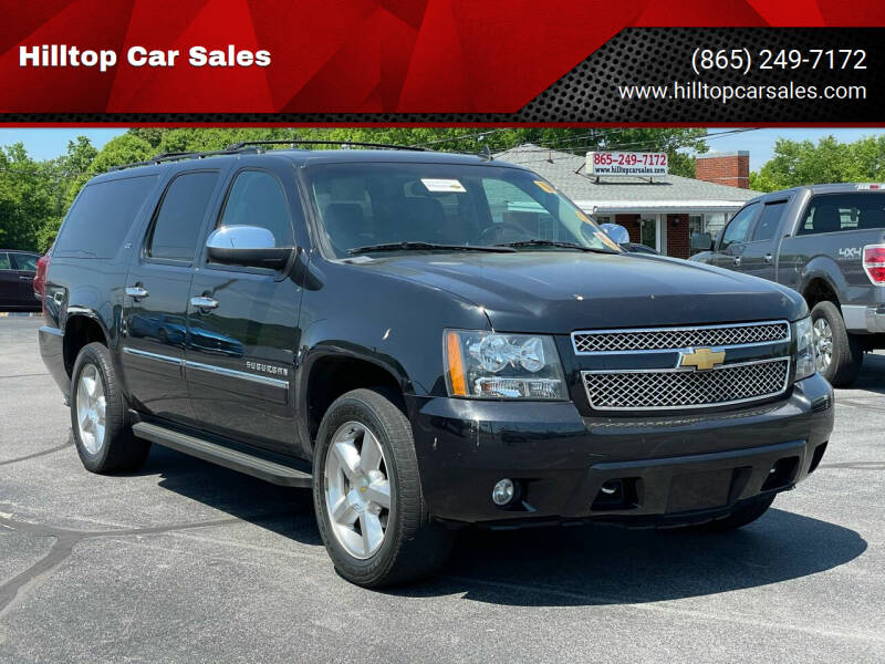 2013 Chevrolet Suburban for sale at Hilltop Car Sales in Knox TN