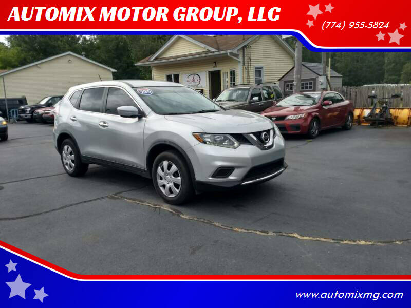 2015 Nissan Rogue for sale at AUTOMIX MOTOR GROUP, LLC in Swansea MA