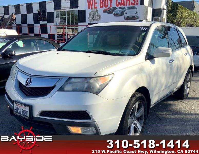 2012 Acura MDX for sale at BaySide Auto in Wilmington CA