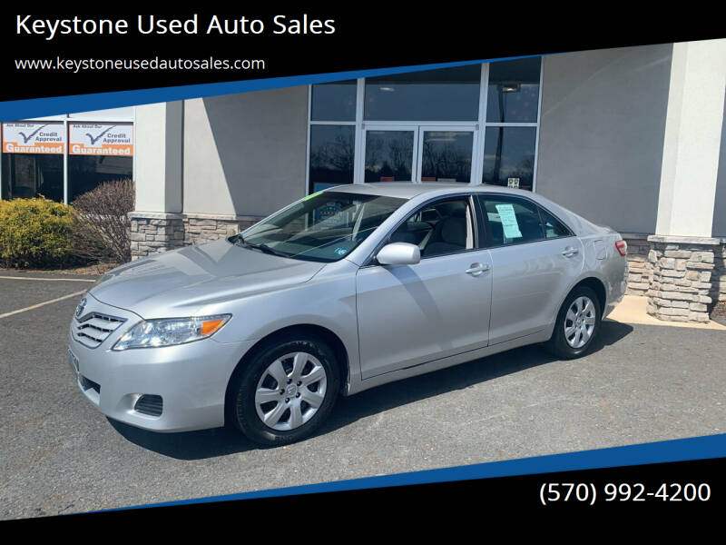 2011 Toyota Camry for sale at Keystone Used Auto Sales in Brodheadsville PA