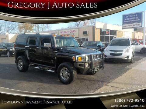 2006 HUMMER H3 for sale at Gregory J Auto Sales in Roseville MI