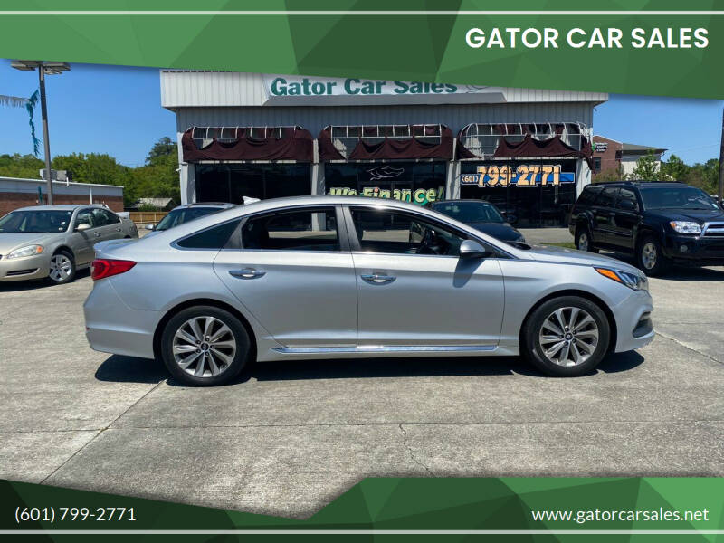 2017 Hyundai Sonata for sale at Gator Car Sales in Picayune MS