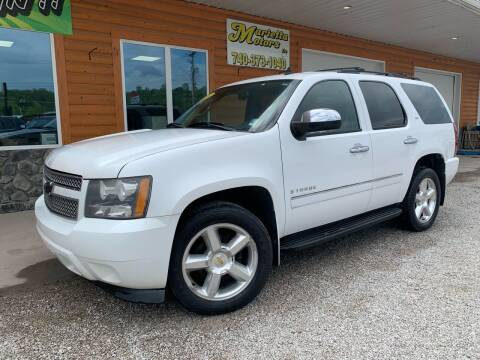 2009 Chevrolet Tahoe for sale at MARIETTA MOTORS LLC in Marietta OH