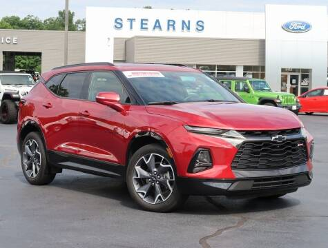 2019 Chevrolet Blazer for sale at Stearns Ford in Burlington NC