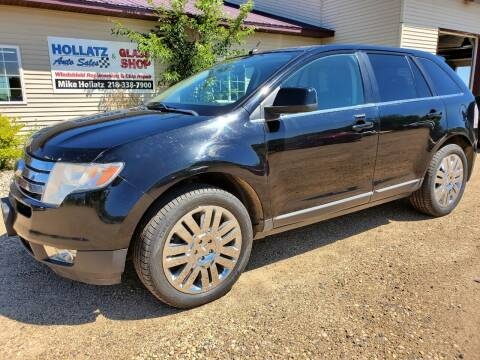 2008 Ford Edge for sale at Hollatz Auto Sales in Parkers Prairie MN