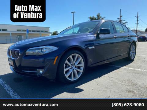 2011 BMW 5 Series for sale at Auto Max of Ventura in Ventura CA
