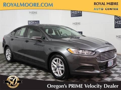 2015 Ford Fusion for sale at Royal Moore Custom Finance in Hillsboro OR