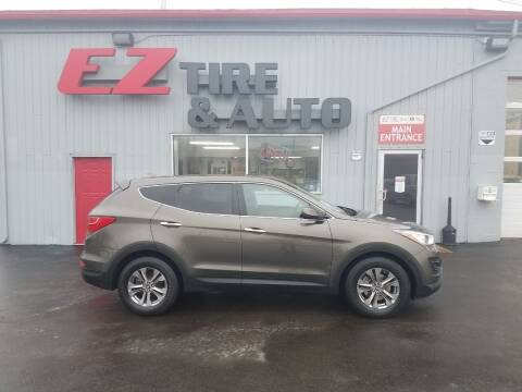 2014 Hyundai Santa Fe Sport for sale at EZ Tire & Auto in North Tonawanda NY
