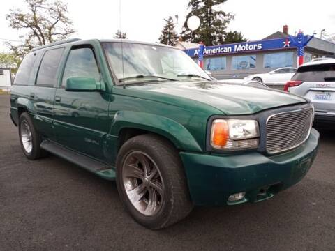 1999 GMC Yukon for sale at All American Motors in Tacoma WA