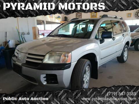 2005 Mitsubishi Endeavor for sale at PYRAMID MOTORS - Pueblo Lot in Pueblo CO