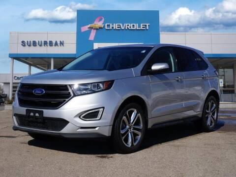 2018 Ford Edge for sale at Suburban Chevrolet of Ann Arbor in Ann Arbor MI